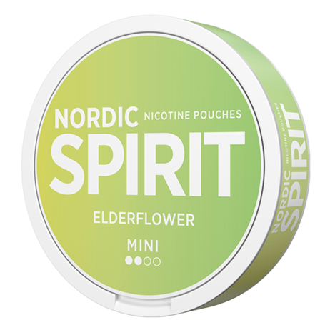Nordic Spirit Elderflower Mini Light Nicotine Pouches