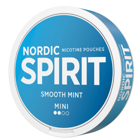 Nordic Spirit Smooth Mint Mini Light Nicotine Pouches