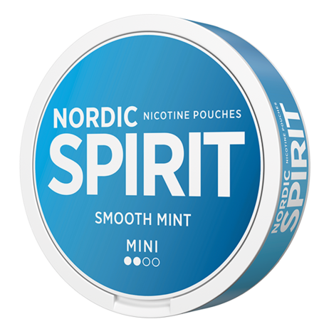Nordic Spirit Smooth Mint Light Nicotine Pouches