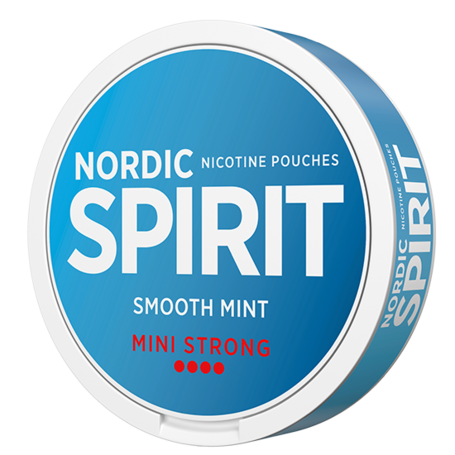Nordic Spirit Smooth Mint Mini Normal Nicotine Pouches