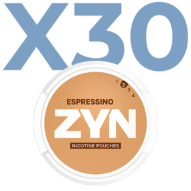 Zyn Espressino Mini Less Intense Valuepack - 30 Cans