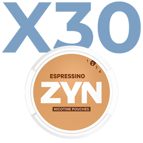 Zyn Espressino Mini Light Valuepack - 30 Cans