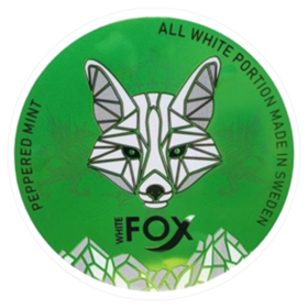 White Fox Peppered Mint Slim Extra Strong