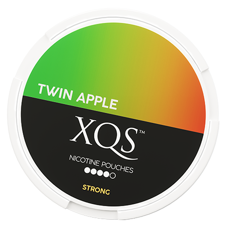 XQS Twin Apple Slim Strong Nicotine Pouches