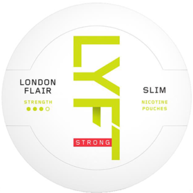 Lyft London Flair Slim Strong Nicotine Pouches