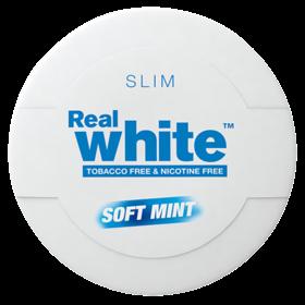 KickUp Real White Soft Mint Slim Nicotine Free Pouches