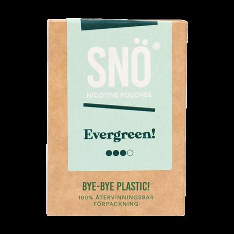 SNÖ Evergreen Mini Light Nicotine Pouches