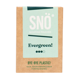 SNÖ Evergreen Mini Strong Nicotine Pouches