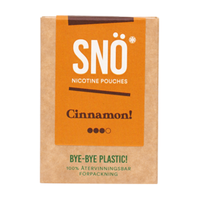 SNÖ Cinnamon Mini Strong Nicotine Pouches