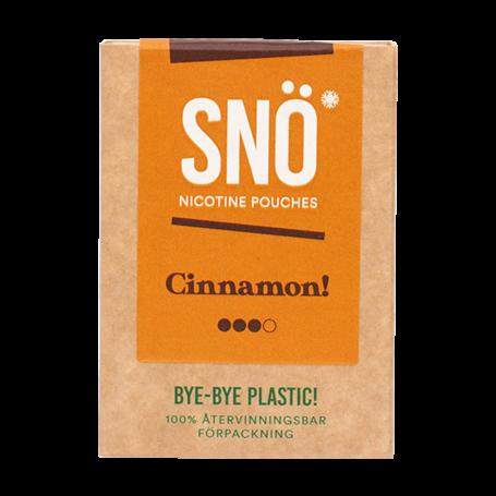 SNÖ Cinnamon Mini Light Nicotine Pouches