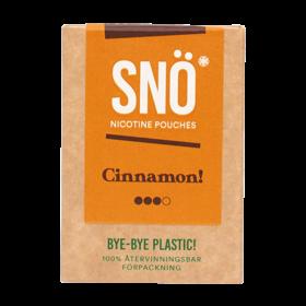 SNÖ Cinnamon Mini Strong Nicotine Pouches