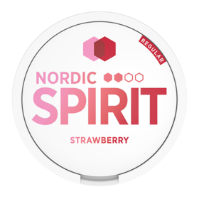Nordic Spirit Strawberry Slim Normal Nicotine Pouches