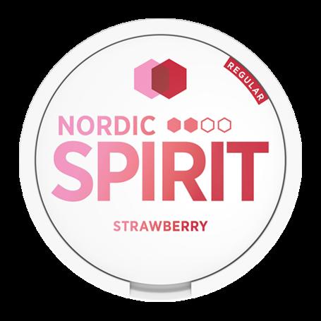 Nordic Spirit Strawberry Slim Normal Nicotine Pouches