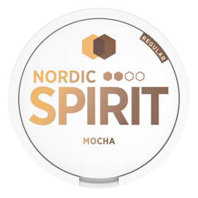 Nordic Spirit Mocha Slim Normal Nicotine Pouches