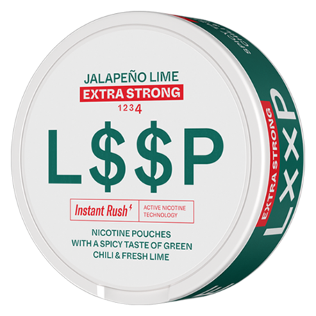 LOOP Jalapeno Lime Slim Extra Strong