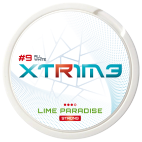 Extreme Lime Paradise Slim Extra Strong