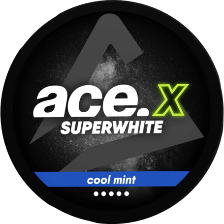 Ace Superwhite X Cool Mint Slim Extra Strong