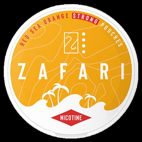 Zafari Red Sea Orange Slim Extra Strong