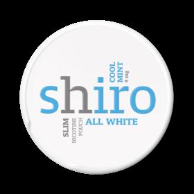 Shiro Cool Mint Slim Less Intense Nicotine Pouches