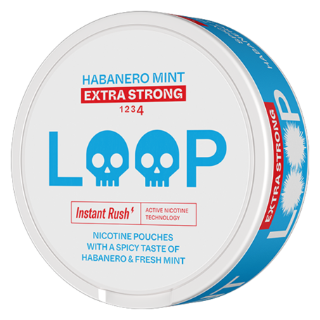 LOOP Habanero Mint Slim Extra Strong