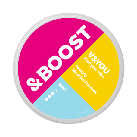 V&YOU &BOOST Mint Slim Strong