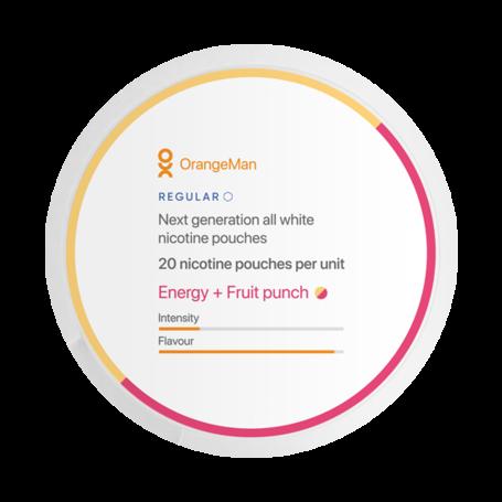 OrangeMan Energy + Fruit Punsch Slim Normal