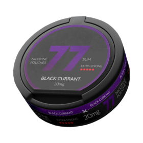 77 Black Currant Slim Extra Strong