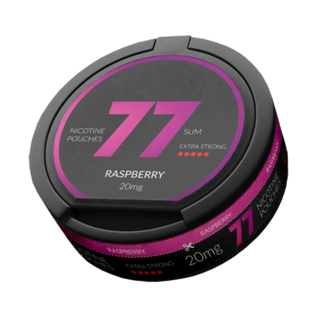 77 Raspberry Slim Extra Strong