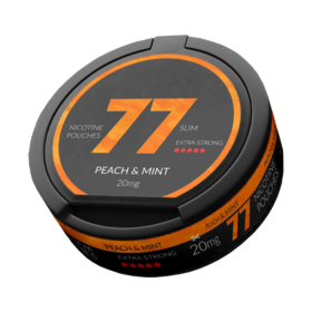 77 Peach & Mint Slim Extra Strong