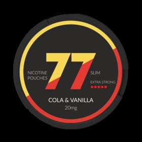 77 Cola & Vanilla Slim Extra Strong