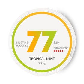 77 Tropical Mint Slim Extra Strong