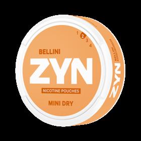 Zyn Dry Bellini Mini Less Intense Nicotine Pouches