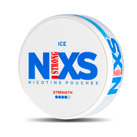 N!xs Ice Large Extra Strong Nicotine Pouches
