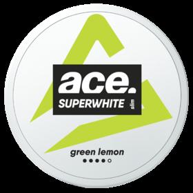 Ace Superwhite Green Lemon Slim Extra Strong