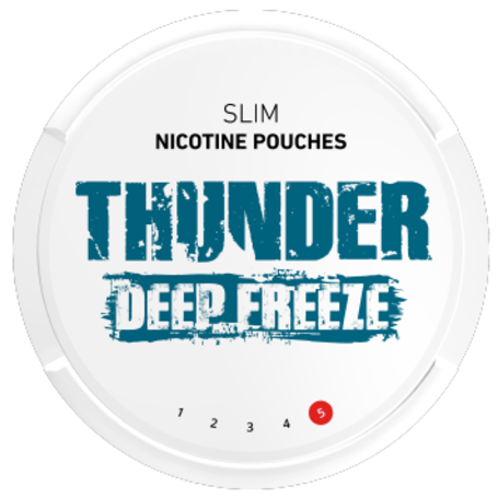 Thunder Deep Freeze Slim Extra Strong Nicotine Pouches
