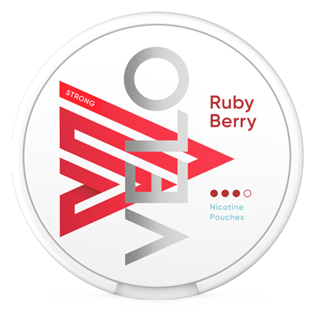 Velo Ruby Berry 10MG Slim Extra Strong