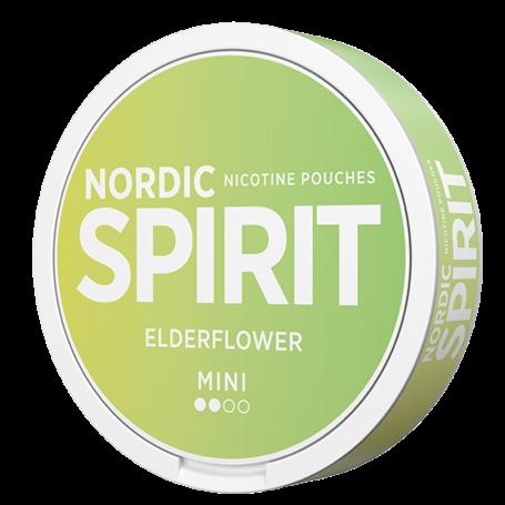 Nordic Spirit Elderflower Mini Kevyt Nikotiinipussit