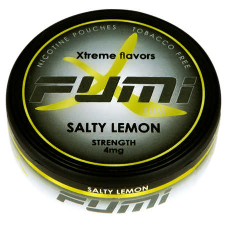 Fumi Salty Lemon Slim Normaali