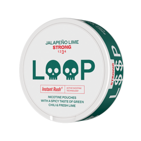 LOOP Jalapeno Lime Slim Strong