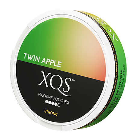 XQS Twin Apple Slim Extra Strong