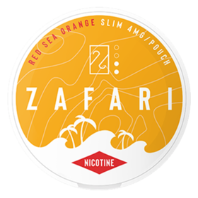 Zafari Red Sea Orange 4mg Slim Normal