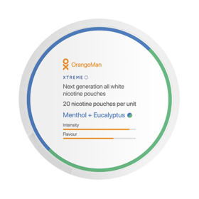 OrangeMan Menthol + Eucalyptus Xtreme Slim Extra Strong